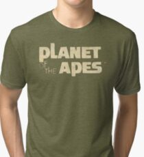 Planet of the Apes Vintage Tri-blend T-Shirt