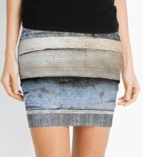 old wood Mini Skirt