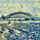 Sydney Harbour Bridge by Fran Woods