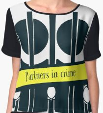 Partners in Crime for True Crime Junkies and Murderinos Chiffon Top
