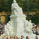 Wagner Memorial Inauguration in Berlin, 1904 by edsimoneit