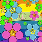 Flower Power Rainbow by Sheri42