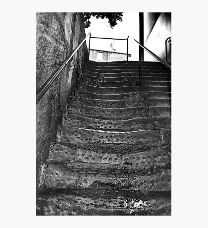 Old Steps # 2 Photographic Print