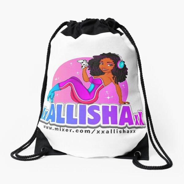 The Original XxALLISHAxX Logo Drawstring Bag