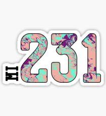 231 Sticker