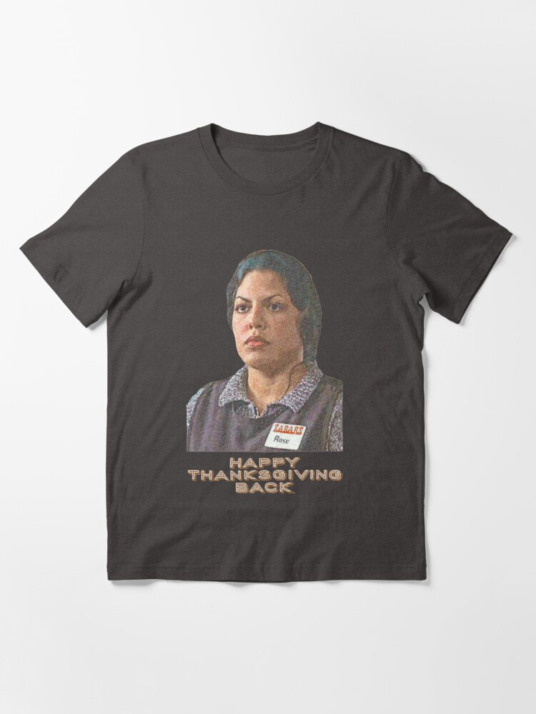 Alternate view of Happy Thanksgiving Back - You've Got Mail Essential T-Shirt