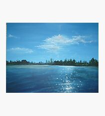 The City of Perth from a Cruiser Photographic Print