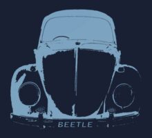 VW Beetle Shirt -  Light Blue