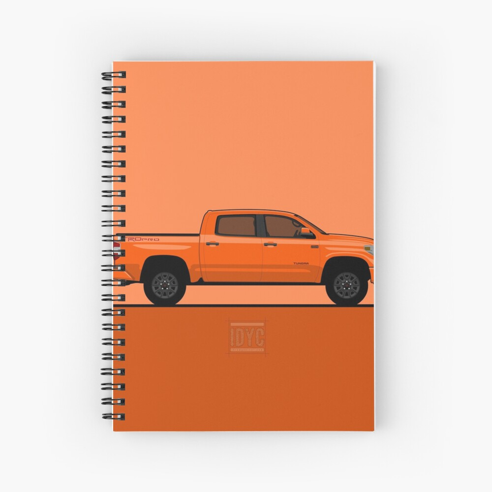 Visit idrewyourcar.com to find hundreds of car profiles! Spiral Notebook