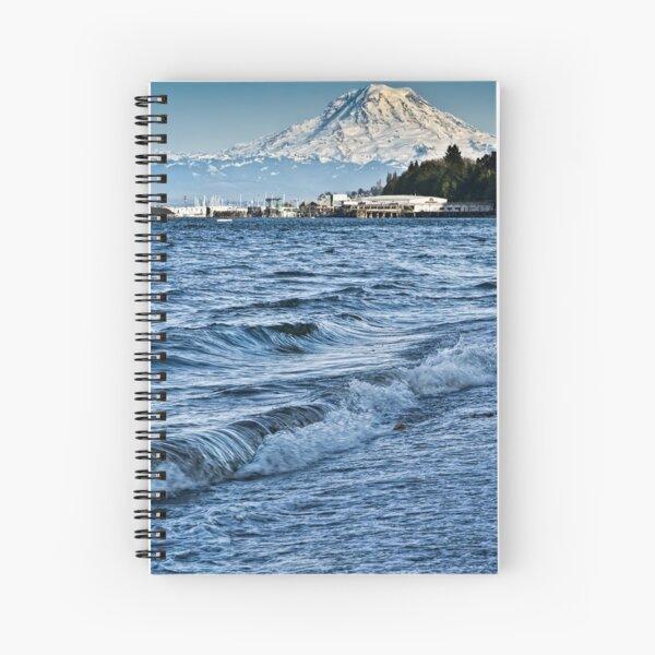 Overlooking the Sound Spiral Notebook