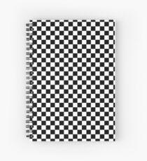 Cuaderno de espiral A cuadros