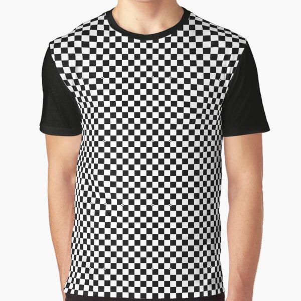 Checkered Graphic T-Shirt