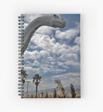 Who Invited the Dinosaurs? Spiral Notebook