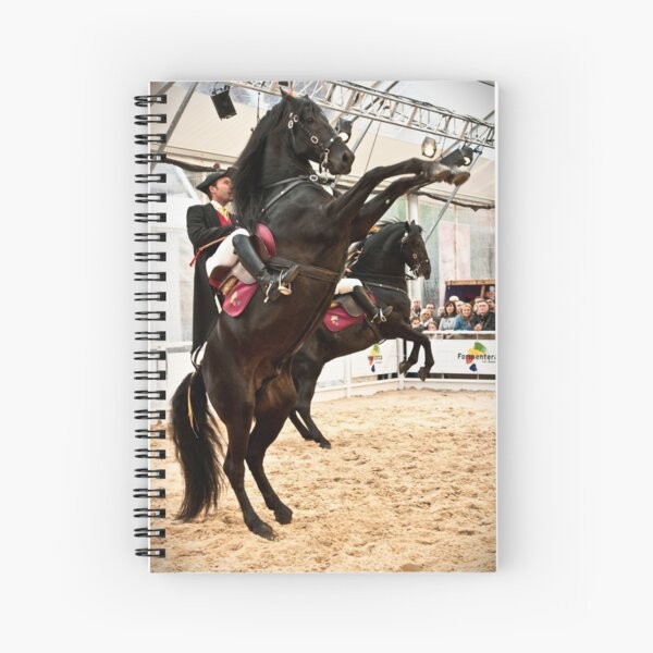 Menorcan dressage - Spanish step Spiral Notebook