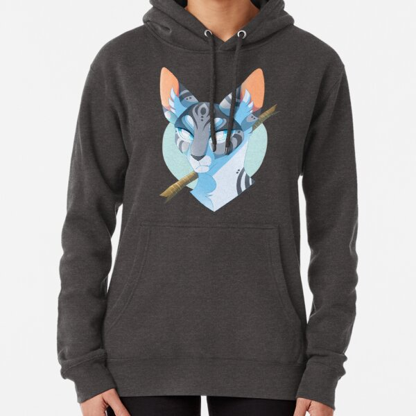 Jayfeather and Stick Pullover Hoodie