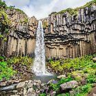 Amazing waterfall around Basalt Rocks by alokojha