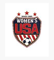 USA Frauenfußball National Shield seit 1985 Fotodruck