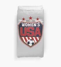 USA Frauenfußball National Shield seit 1985 Bettbezug