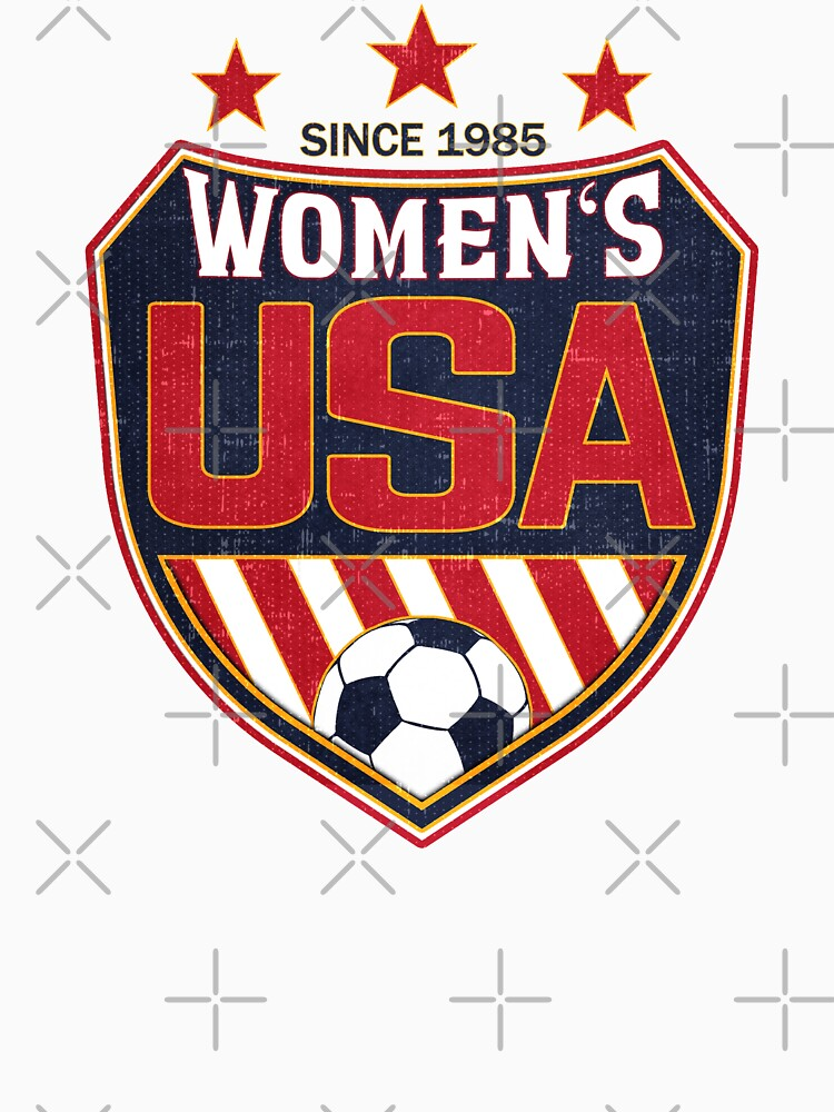 USA Women's Soccer National Shield since 1985 by fermo