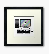 8Bit Computer Framed Print