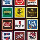 Beer Brands Vintage by Tasty Clothing