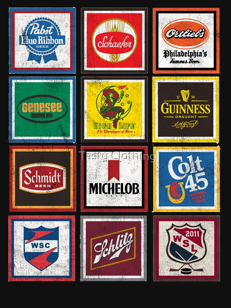 Beer Brands Vintage By Deadscan