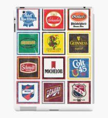 Beer Brands Vintage iPad Case/Skin