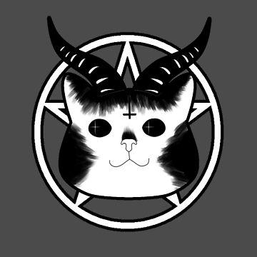 Satan Kitty by Demonkin