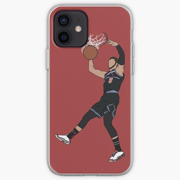 Zach Lavine Slam Dunk iPhone Soft Case