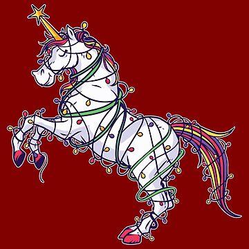 Christmas Tree Unicorn by soondoock