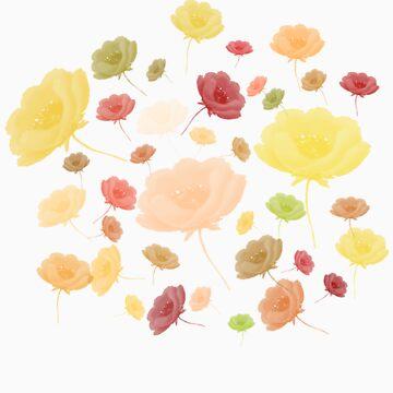 Roses Tshirt by simpsonvisuals
