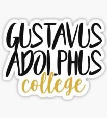 Gustavus Adolphus College Sticker