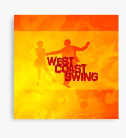 West Coast swing Canvas Print