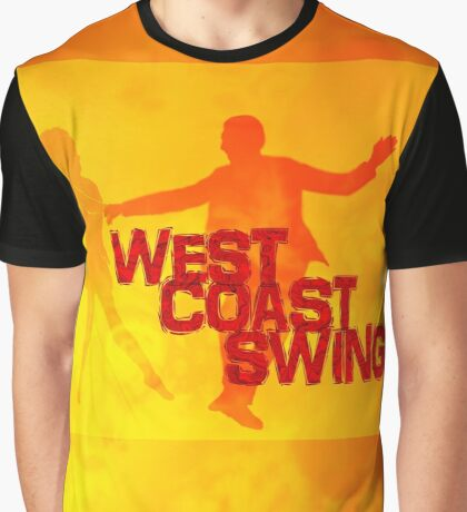 West Coast swing Graphic T-Shirt