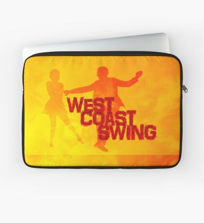 West Coast swing Laptop Sleeve