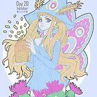 Tyche Witch - Inktober Day 20 by Weiliepew