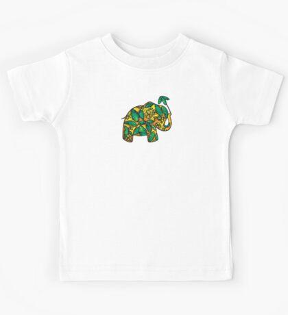 Umbrellaphant Lime Splice Kids Clothes