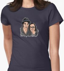 Katie Cooper and Gaz Coombes Illustration T-Shirt