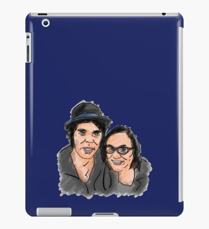 Katie Cooper and Gaz Coombes Illustration iPad Case/Skin