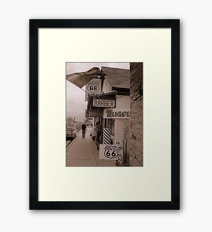 The Mother Road, Route 66. Framed Print