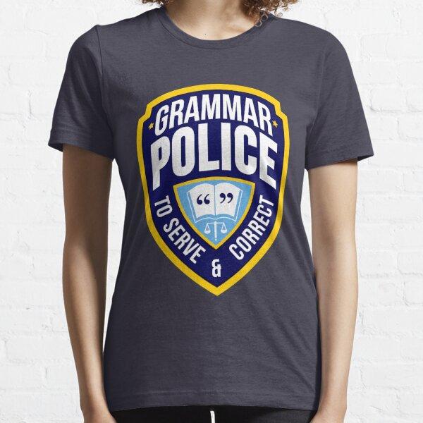 Grammar Police Badge Essential T-Shirt
