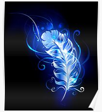 Feather of Blue Fire Poster