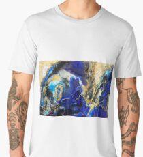 Blue Map Men's Premium T-Shirt
