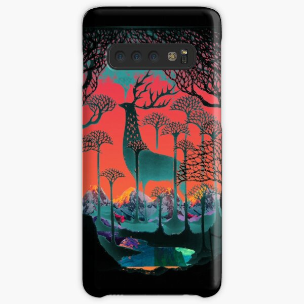 Forest Spirit - Woodland Illustration Samsung Galaxy Snap Case