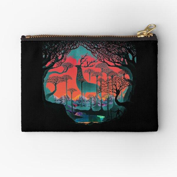 Forest Spirit - Woodland Illustration Zipper Pouch