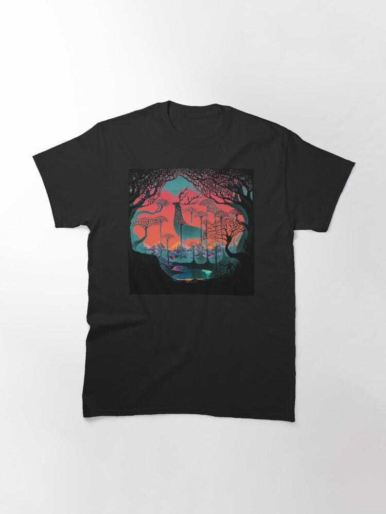 Alternate view of Forest Spirit - Woodland Illustration Classic T-Shirt