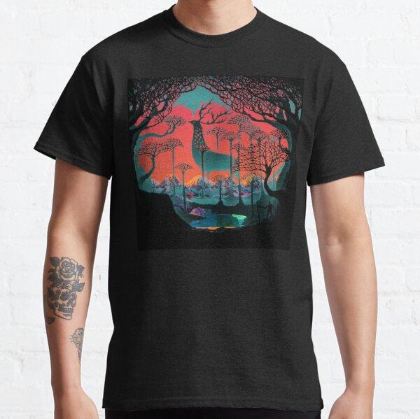 Esprit de la forêt - Illustration des terres boisées T-shirt classique