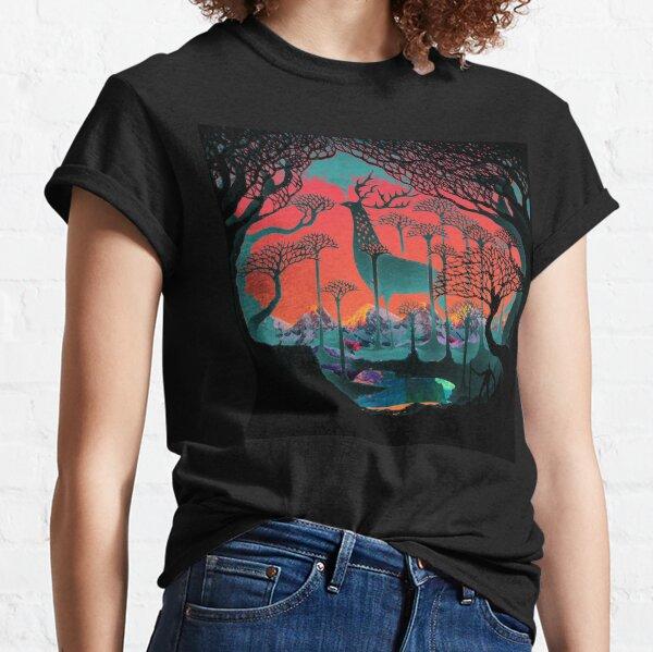 Espíritu del bosque - Ilustración del bosque Camiseta clásica