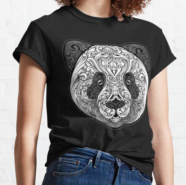Ornate Panda Classic T-Shirt