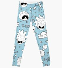 Rick and Morty pattern Leggings